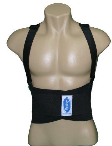 Cinta ergonômica abdominal com suspensório