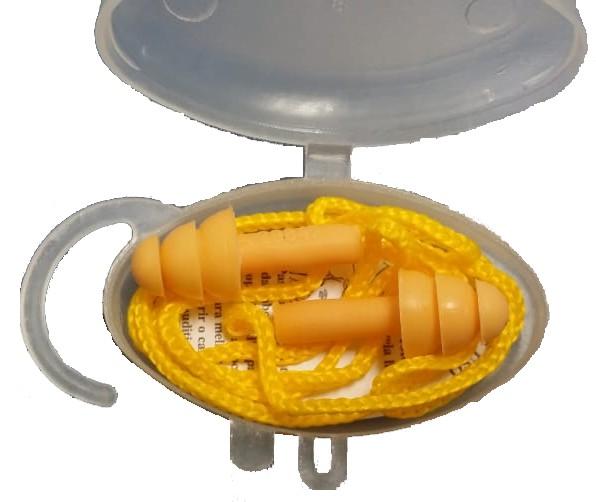 Protetor auditivo plug silicone