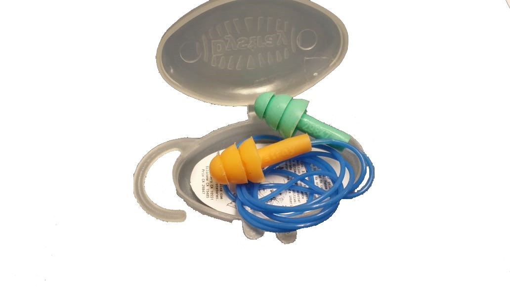 Protetor auricular de silicone