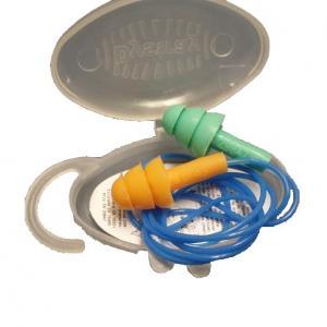 Protetor auditivo de silicone com cordão